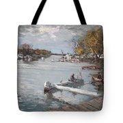 Dock At The Bay North Tonawanda Tote Bag