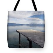 Dock Glowing In The Sunlight Tote Bag