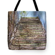 Dock In The Glades Tote Bag