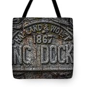 Dock Marker Tote Bag