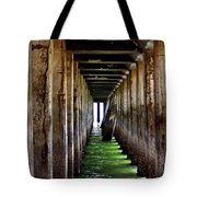 Dock Of The Bay Tote Bag by Bill Gallagher