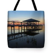 Dock On The Bay Tote Bag