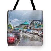 Dock Street - Cedar Key Tote Bag