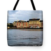 Docked At The Boardwalk Walt Disney World Tote Bag