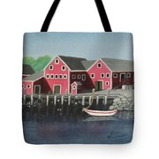 Docked - Original Sold Tote Bag