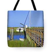 Docked On The Bay Tote Bag