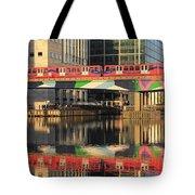 Docklands Railway London Tote Bag