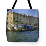 Docks On The Grand Canal Tote Bag
