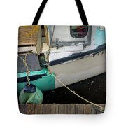 Dockside Detail Tote Bag