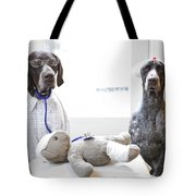 Doctor And Nurses Tote Bag