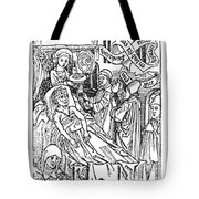 Doctor And Patient, 1509 Tote Bag