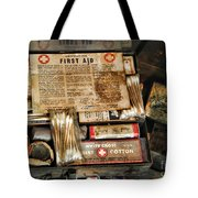 Doctor - The First Aid Kit Tote Bag