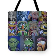 Doctor Who Muppet Mash-up Tote Bag