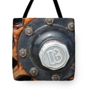Dodge Brothers Hubcap And Spokes Tote Bag