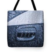 Dodge Charger Frozen Car Handle Tote Bag