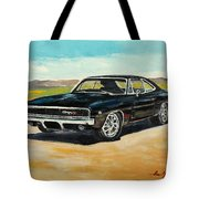 Dodge Charger Rt 1970 Tote Bag