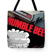 Dodge Coronet Super Bee - Rumble Bee Tote Bag