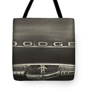 Dodge Emblem Tote Bag