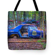 Dodge Polara Police Vehicle Tote Bag