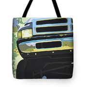Dodge Ram With Green Hue Tote Bag