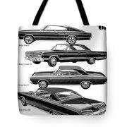 Dodge Rebellion '67 Tote Bag