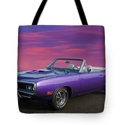 Dodge Rt Purple Sunset Tote Bag
