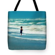 Does The Ocean Ever Stops Tote Bag