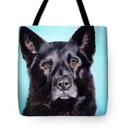 Does This Include Me Black Dog Tote Bag