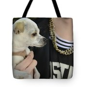Dog And True Friendship 1 Tote Bag