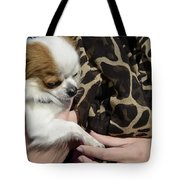 Dog And True Friendship 3 Tote Bag