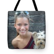 Dog And True Friendship 5 Tote Bag