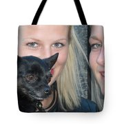 Dog And True Friendship 6 Tote Bag