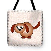 Dog - Animals - Art For Kids Tote Bag by Anastasiya Malakhova