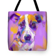 Dog Charlie Tote Bag