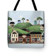 Dog Days Of Summer Tote Bag by Catherine Holman