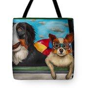 Dog Days Of Summer Edit 3 Tote Bag