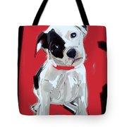 Dog Doggie Red Tote Bag