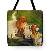 Dog Friends Tote Bag