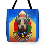 Dog God Tote Bag