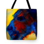 Vincent The Dog Gogh Tote Bag