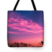 Dog Sunrise 2 Tote Bag
