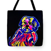 Dog Tibetin Lhasa Apsos  Tote Bag