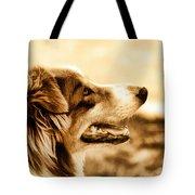 Doggie Face Tote Bag