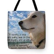 Doggie Soul Tote Bag