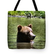Doggy Paddle Tote Bag