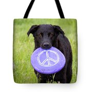 Dogs For Peace Tote Bag