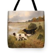 Dogs On The Scent Tote Bag
