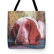Dog's Portrait No 1 Tote Bag