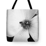 Dogwood Black And White 2 Tote Bag