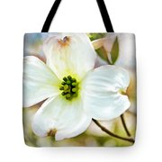 Dogwood Blossom - Digital Paint I  Tote Bag